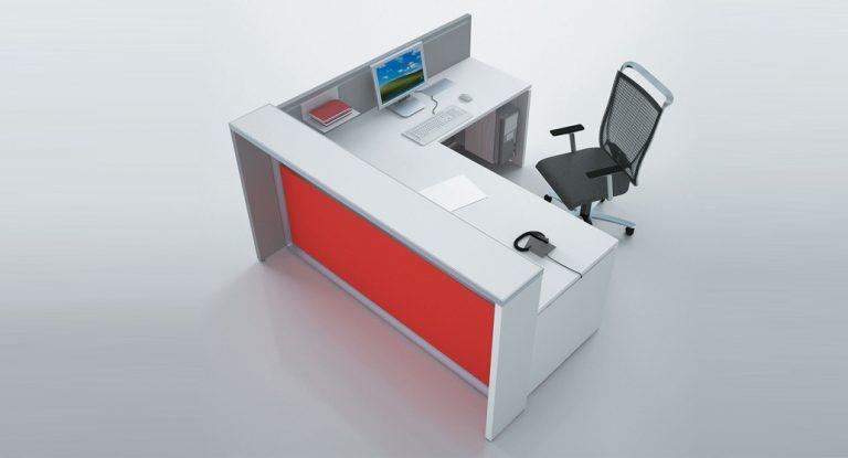 اداری CO102 768x415 - کانتر اداری - میز پیشخوان
