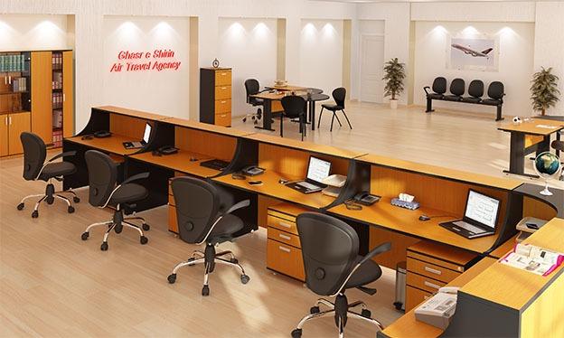 اطلاعات m242 - کانتر اداری - میز پیشخوان