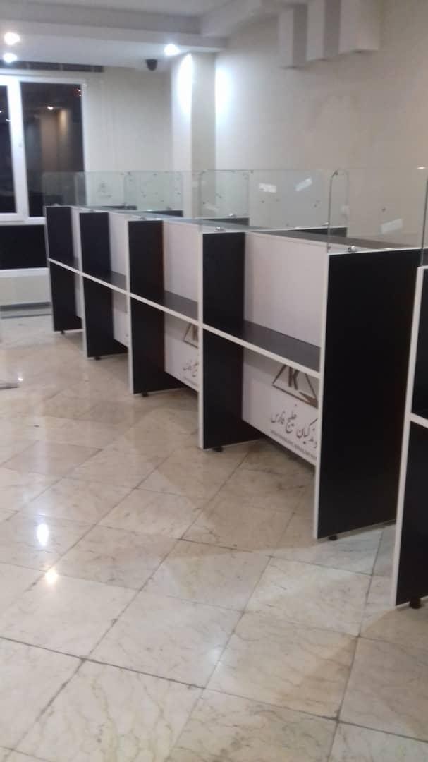 اطلاعات m245 شیشه ای - کانتر اداری - میز پیشخوان